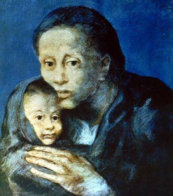 Pablo Picasso - Desamparados, Museo Picasso Barcelona, 1903.