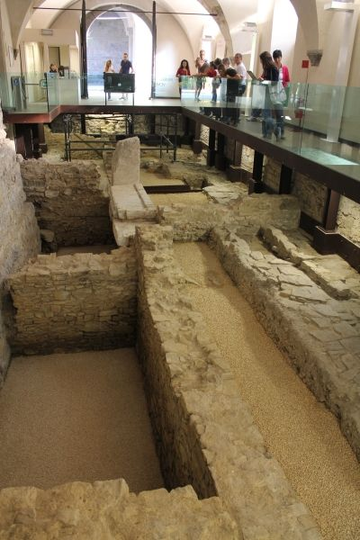 Restos del Palazzo del Podestá