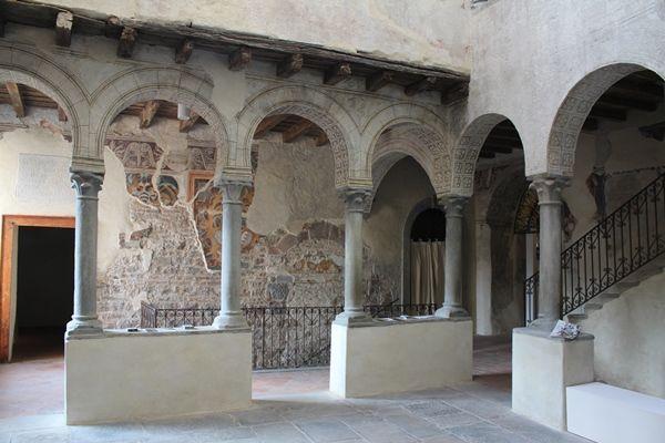 Patio del Palazzo del Podestá