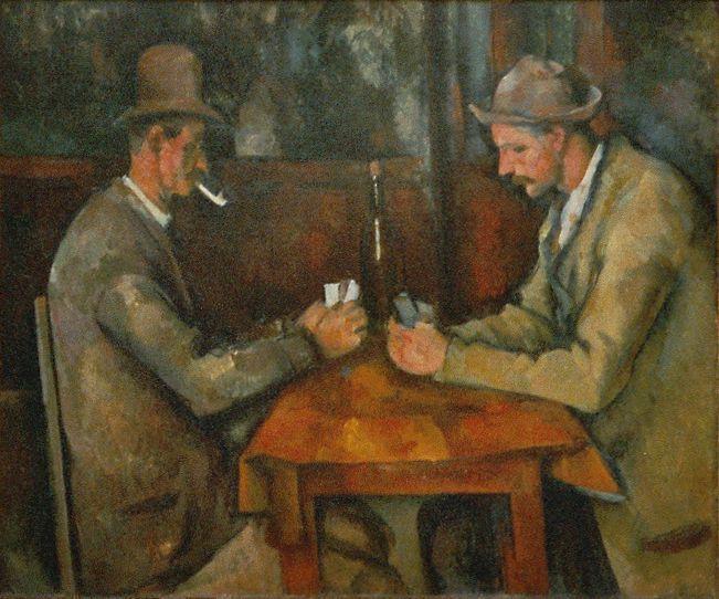Paul Cézanne - Los Jugadores de Cartas (1891)
