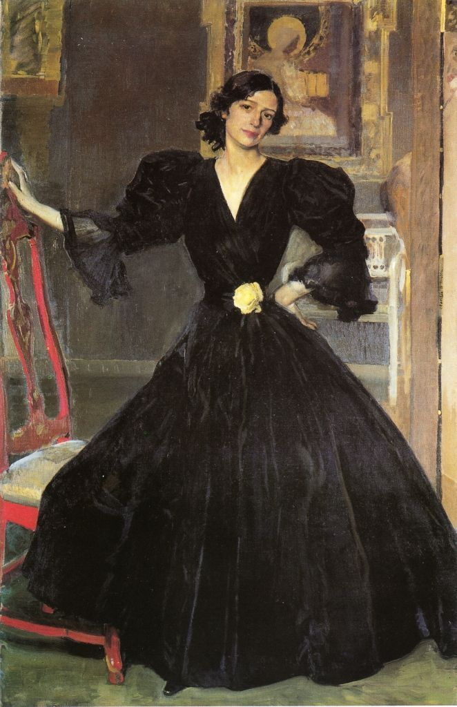 Clotilde con traje negro. 1906. Óleo sobre lienzo. 186x118,7cm. The Metropolitan Museum of Art, Nueva York