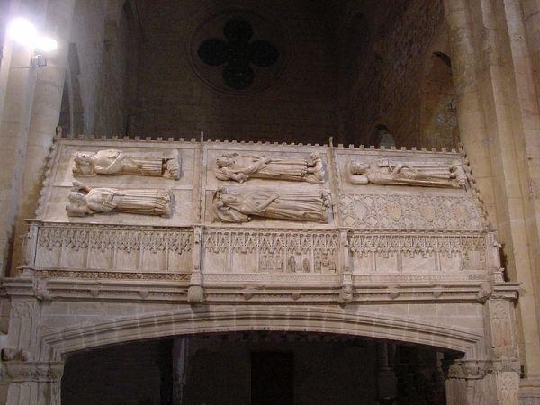 Monasterio de Poblet, Panteón Real.