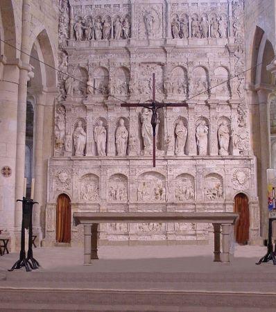 Monasterio de Poblet, Retablo.