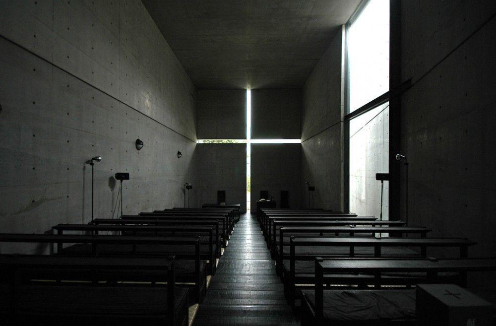 Iglesia de la luz. Interior.