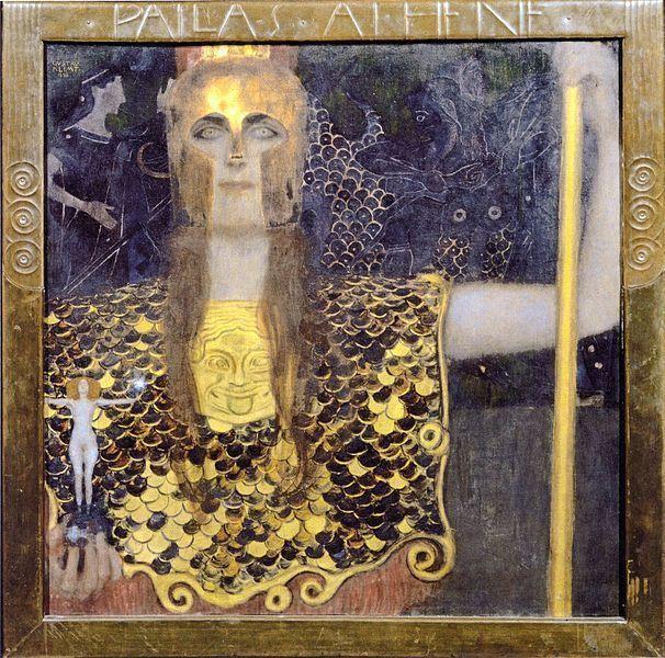 Gustav Klimt, Pallas Atenea, 1898, Historisches Museum der Stadt Wien, Viena.