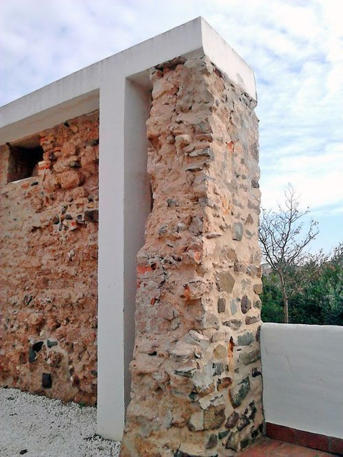 Intervención en los muros