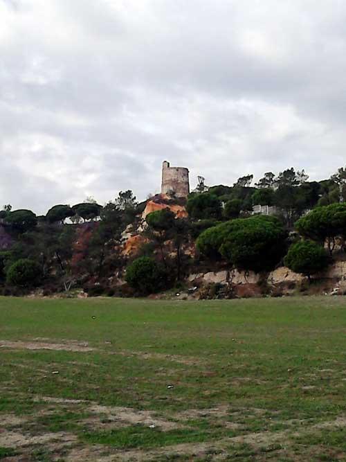 Emplazamiento de la torre del Catalán