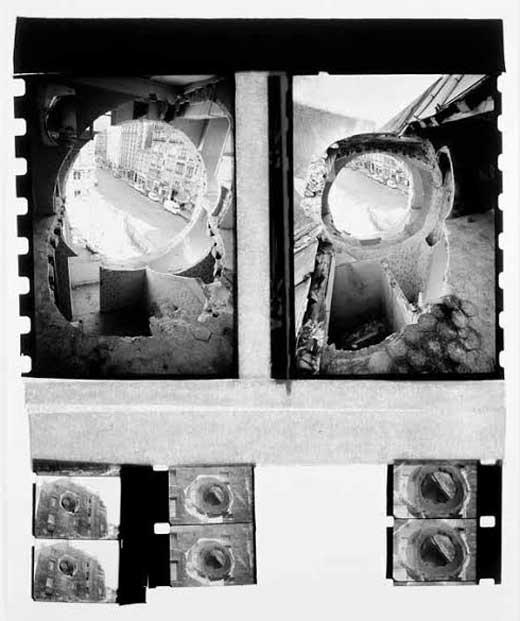 Gordon Matta-Clark, Conical Intersects, 1975.