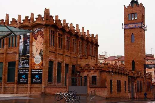 Fábrica Casaramona-CaixaForum, Barcelona.