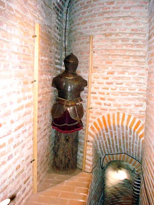 Galería de la torre del homenaje del Castillo de Coca, Segovia.