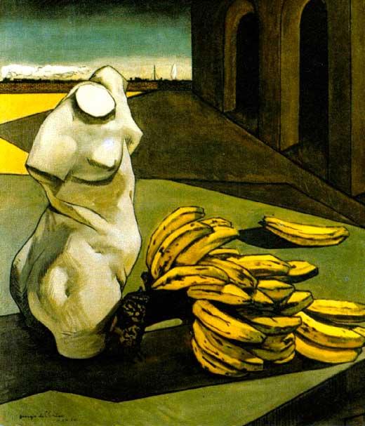 Giorgio de Chirico, La incertidumbre del poeta, 1913, Tate Modern, Londres.