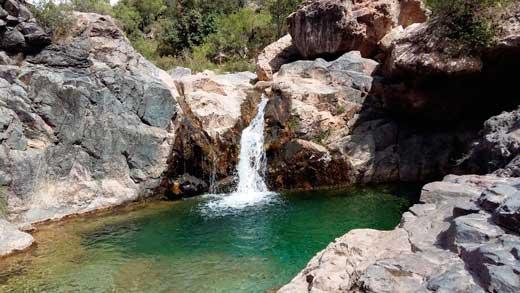 Río y pantano Siurana