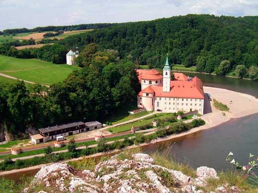 Abadía de Weltenburg en Kelheim.