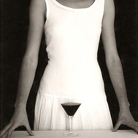 mujer copa