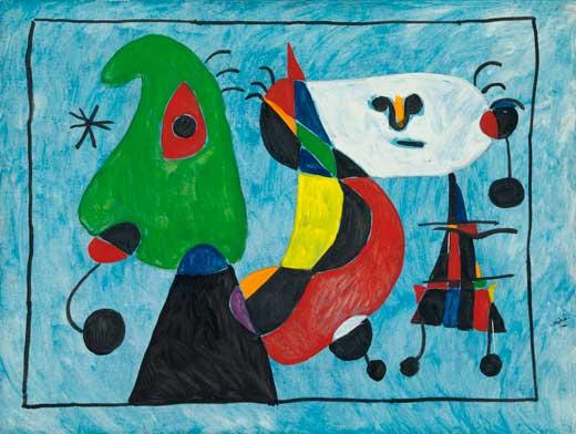 Pintura de Joan Miro
