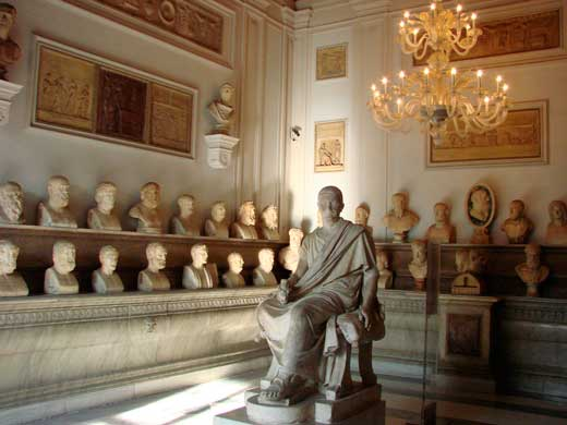 Sala del museo capitolino
