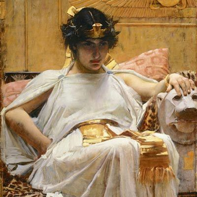 Waterhouse - Cleopatra