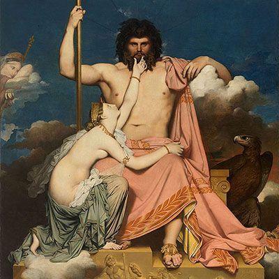 Júpiter y Tetis