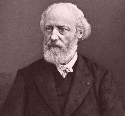 Retrato de Viollet Le Duc